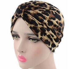 Woman Elastic Cotton Head Wrap Scarf Turban Hat Cancer Chemo Hair Loss Cap Cover