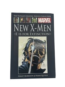 Marvel The Ultimate Graphic Novels Collection New X-Men E Is For Extinction H/C