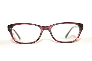 NEW CHRISTIAN SIRIANO KARLY DRED DARK RED AUTHENTIC EYEGLASSES RX 52-17-140 MM