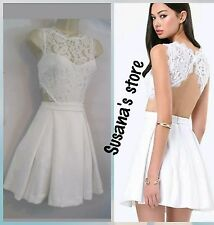 NWT bebe Carlie Lace Open Back Dress SIZE M Gorgeous, sexy and beautiful $160