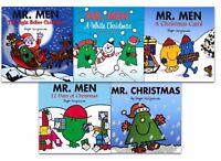Roger Hareaves Mr Men Collection 5 Books Set Mr Men Night Before Christmas PB