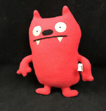 UglyDoll Classic Dave Darinko Red 8 inch Plush 2011 Retired