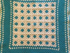 Handmade Crochet Afghan / Throw Blanket Newly Crafted