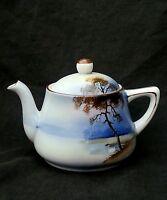 Antique Noritake Morimura hand painted porcelain teapot