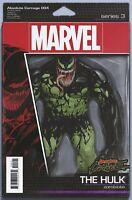 Absolute Carnage #4 Hulk Action Figure Marvel Comic 1st Print 2019 NM