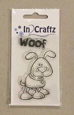 Dog Woof Puppy Clear Stamp Craft Scrapbooking In Craftz Brand Aussie Seller