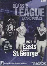 NRL Grand Final Premiers 1975 Easts DVD Full Grand Final Free Post