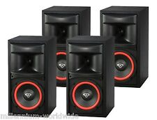 "NEW (4) CERWIN VEGA XLS-6 125W BOOKSHELF SPEAKERS / 6.5"" WOOFER / SURROUND SOUND"