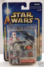 Star Wars Attack of the Clones Clone Trooper Figure 17 Hasbro 2002