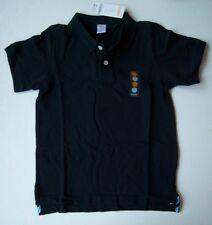 NWT Gymboree Boys Navy Blue Short Sleeve Uniform Polo Shirt Size 7