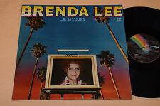 BRENDA LEE LP L.A. SESSIONS 1°ST ORIGINALE 1976 NM ! MAI SUONATO