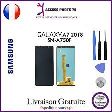 Ecran LCD OLED + Vitre Tactile Samsung Galaxy A7 2018 Noir A750F + Outils