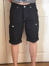 """Men's Voi Jeans Chino Shorts Navy 32"""" Waist"""