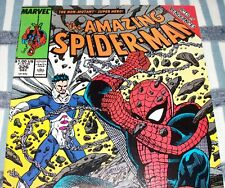 The Amazing Spider-Man #326 Gravity Storm! from Dec. 1989 in VF condition DM