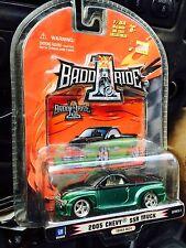 1 Badd Ride Series 1: 2005 Chevy SSR Truck (GREEN.        BLACK) NIP