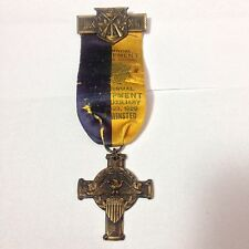 7th Annual Encampment Ladies auxiliary 1929 vets of foreign war Medal Dept Conn.