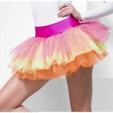 Minigonna da donna multicolore