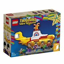 """LEGO IDEAS """" The Beatles Yellow Submarine """" 21306 genuine from Japan 553 pieces"""