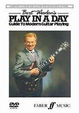 Bert Weedon: Play Guitar In A Day DVD Guitar DVD (Region 0) Instrumental Tutor