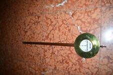 1 Original Wiener Prunk Uhrenpendel 1-2-3 Gewichter um 1890 65 cm 3t6