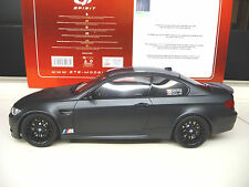 1:18 GT Spirit BMW M3 DTM Black Edition Carbon E92 NEW SHIPPING FREE