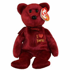 TY Beanie Baby - KOREA the Bear (I Love Korea -  Asia-Pacific Excl) (8.5 inch)