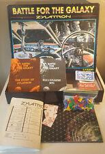 Battle for The Galaxy Zylatron Board Game - Vintage 1980s - RARE