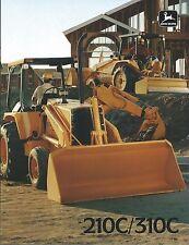 Equipment Brochure - John Deere - 210C 310C - Loader Backhoe - c1988 (E3740)