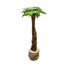Dollhouse Tree Plant Pachira Macrocarpa Potting 1:12 Miniature Decoration