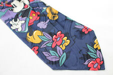 DISNEY MICKEY MOUSE Silk tie  cartoon E93993