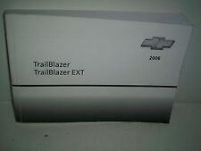 2006 trailblazer owners manual