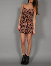 TWENTY8TWELVE BY S. MILLER GRAYSON LEOPARD DRESS IN  MULTI #MD $498
