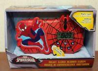 Amazing Ultimate Marvel Spider-Man Night Glow Alarm Clock Night Light Sound