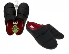 Summit Camping Unisex Slippers Small Water Resistant Thermal Fleece Warm Black