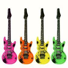 Inflatable Pink Green Rock Guitar Fancy Dress blow up Costume Hawaiian Beach