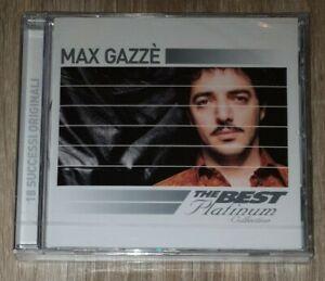 MAX GAZZE' - THE BEST OF PLATINUM  CD POP-ROCK ITALIANA