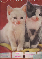 Womans Home Companion January 1951 Cat Kitten Cover Sinclair Lewis FDR