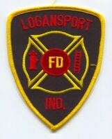 Logansport Fire Department Patch Indiana IN