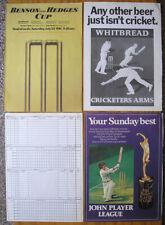 Lot of 23 Vintage Cricket Magazine Ads, Newspaper Photos Etc. Advertisements