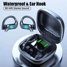 New listing Bluetooth 5.0 Headset Tws Wireless Earbuds Earphones Stereo Headphones Ear Hook