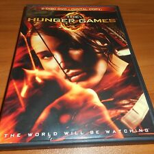 The Hunger Games (DVD, 2012, 2-Disc Widescreen) Jennifer Lawrence Used