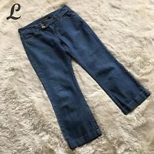 Banana Republic Womens Jeans Size 8 Cropped Mid Rise 100% Cotton Button Waist 56