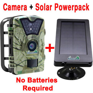 Wilderness Trail Solar Animal Camera Wireless Waterproof Infrared Night Vision