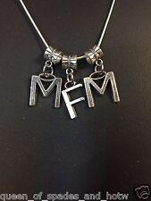 """ MFM Sexy Necklace "" THREESOME Hotwife Swinger Lifestyle Jewelry Cuckold BBC 02"