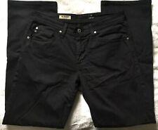 Adriano Goldschmied 'Protege' Straight Leg Cotton Denim Jeans in Black (31Wx34L)
