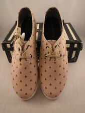 Loly in the Sky Critter Fix Sneakers Tennis Shoes Sz US 11  Fox Head Print Tan