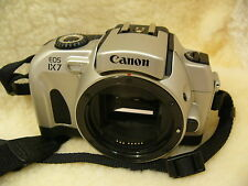 Cámara SLR Canon Eos IX7 cuerpo de películas APS enfoque automático, menta, montaje de lentes EF
