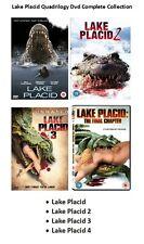 LAKE PLACID QUADRILOGY DVD PART 1 2 3 4 MOVIE FILM Brand New Sealed UK Release