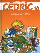 Livre BD album Cédric no 10 gâteau surprise  2005 book