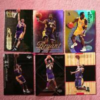 Set mit 6 Kobe Bryant Upper Deck, Fleer, Sky Box Basketball Card Lakers Englisch